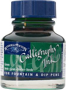 Winsor & Newton Calligraphy Inks -30ml Bottles Full Range