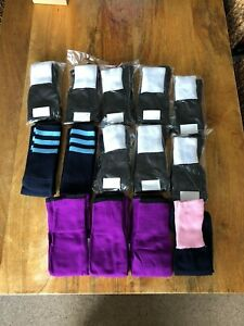 Mixed colour/style Pack Of 14 pairs, Men's Football/rugby Socks,