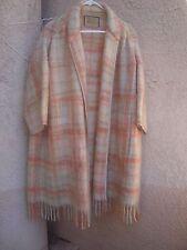 Sale Bonnie Cashin Design for Sills & Co.Vtg 50's/60's Mohair Plaid Blanket Coat