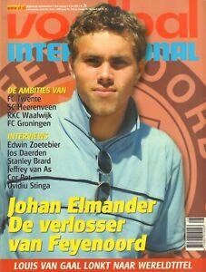 V.I. 2000 nr. 28 - JOHN ELMANDER/JOS DAERDEN/ZOETEBIER/DYNAMO DRESDEN & COR POT