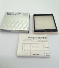 【NEW IN BOX】Mamiya RZ67 Focusing Screen Type D FROM JAPAN