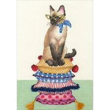 Dimensions Counted Cross Stitch Kit - Cat Lady