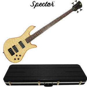 Spector Legend Classic 4 String Natural Oil Stain Bass Guitar and HardcaseSpect