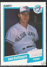 Fleer 1990 Baseball Card - No 94 - Todd Stottlemyre - Toronto Blue Jays