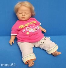 BLONDE BABY PUPPE 50 CM DOLL BABY BEBE POUPEE ANT JUAN