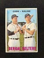 1967 Topps #216 Bengal Belters Al Kaline/Norm Cash~EX Or Better~Detroit Tigers