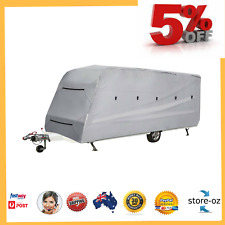Caravan Cover Heavy Duty 18-20ft 4 Layer Waterproof Campervan Camper Pop Top UV