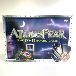 AtmosFear The Gatekeeper DVD Board Game 100% Complete Atmosphere Horror 2003
