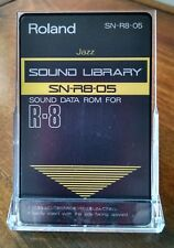 "Roland Sn-R8-05 ""Jazz"" Rom Card For Roland R8, R-8 Mkâ…¡"