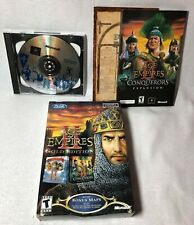 2002 Age of Empires II 2 - Gold Edition (PC) Conquerer's Expansion Age of Kings