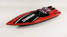 RADIO REMOTE CONTROL BOAT  MOSQUITO CRAFT TRACER RC BOAT HIGH SPEED TWIN MOTOR