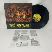 Victims Family - Things I Hate To Admit Vinyl Record LP Original Pressing