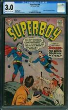 Superboy #68 CGC 3.0 DC 1958 1st Bizarro! Superman Villain! New Case! G7 311 cm