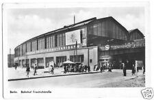 AK, Berlin Mitte, Bahnhof Friedrichstr., 1953