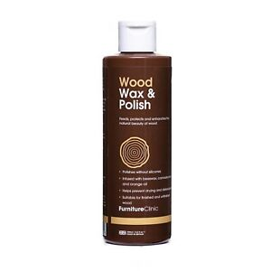 Wood Wax and Polish - For Interior Wood/Wooden Furniture/Kitchen Worktops