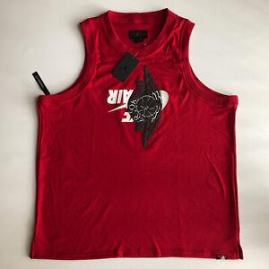 Nike Air Jordan Jumpman Classic Wings Sleeveless Tank Too Red Jersey NWT Sz 2XL
