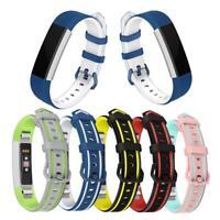 Adjustable Silicone Watchband Bracelet Wrist Strap Replacement Fr Fitbit Alta HR