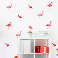 36 Aufkleber Flamingo DIY Wandtattoo Sticker Rosa Vogel Tattoo Deko