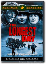 The Longest Day DVD New John Wayne Richard Burton Henry Fonda Robert Mitchum