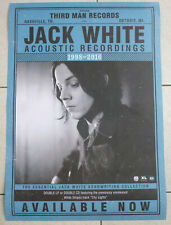 POSTER  - JACK WHITE - (WHITE STRIPES) - ACOUSTIC RECORDINGS - Albumposter - B2