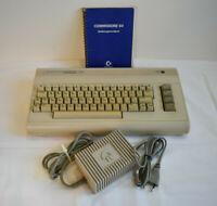 Seltenheit Commodore 64 - mit Netzteil und Bedienungsanleitung - Heimcomputer