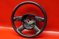 Audi A6 4F C6 Multifunzione 4F0419091AH Volante Pelle 4-Speichen Nero / A1