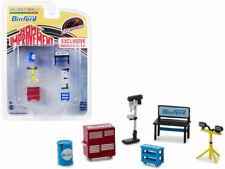 """Binford Tools"" 6 Pc Shop Tools Set ""Home Improvement"" 1/64 By Greenlight 13175"