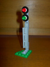 Lego 7938 Train Trackside Signal Light Track