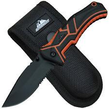 Alpina Sport ODL - Folding Knife Taschenmesser Einhand Linerlock mit Nylonetui