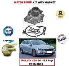 Marca nueva bomba de agua para Volvo V60 D4 181 BHP 2013-2015 OEM: 3136817-9 4423053