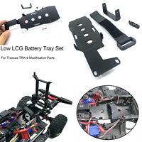 Für Traxxas TRX-4 RC Auto KYX Metall Low LCG Battery Tray Chassis Batteriehalter
