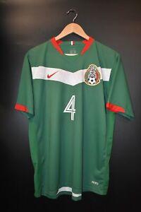 MEXICO RAFA MARQUEZ 2006 WORLD CUP ORIGINAL JERSEY Size L (GOOD)