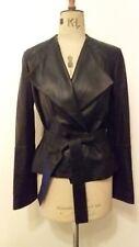 Sass and Bide Womens Kimono Leather Style Jacket size 8