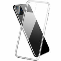 Shockproof 6D Tempered Glass Back Shell Phone Case For iPhone XR/11/Pro/Pro Max