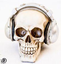 Schädel Totenkopf DJ Kopfhörer Gothic Skull S2006