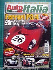 Auto Italia 54 Ferrari P3/4 Siata Maserati 4CS Tipo Fiat Barchetta 4CS Alfa 166
