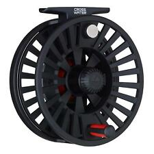 NEW REDINGTON CROSSWATER #4/5/6 WT FLY REEL BLACK + WARRANTY, FREE U.S. SHIPPING