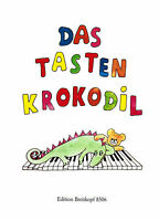 Klavier Noten : Das Tastenkrokodil - EB 8506 -  leicht - leichte Mittelstufe
