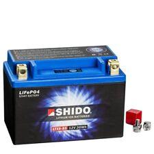 Shido LiFePO4 Motorradbatterie YTX9-BS   12 Volt