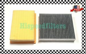 ENGINE & CARBON CABIN AIR FILTER For 2012-2020 Chevrolet Sonic US SELLER