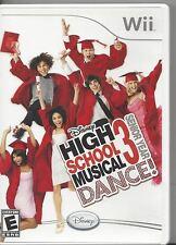 Nintendo Wii High School Musical Dance 3 Senior Year by Disney
