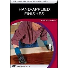 Hand Applied Finishes DVD by Jeff Jewitt