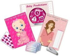 Baby Shower Party Games  ~  3 GAMES  ~  GIRL/PINK  -  up to 20 players