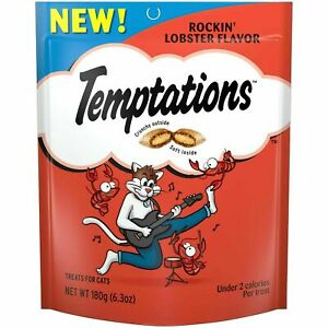 TEMPTATIONS Cat Treats Rockin' Lobster Flavor
