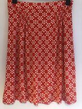Orla Kiely Skirt Size 2 10 12 Vintage Silk