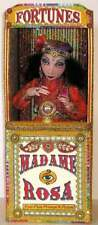 """""""Madame Rosa, Fortune Teller & Booth"""" Cloth Doll Pattern By Arley Berryhill"""