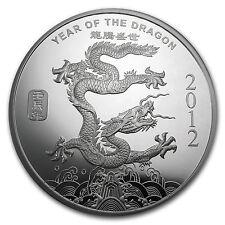 2012 10 oz Lunar Year of the Dragon Silver Round - SKU #65014