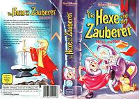 (VHS) Die Hexe und der Zauberer - Walt Disney - Meisterwerk (1963)