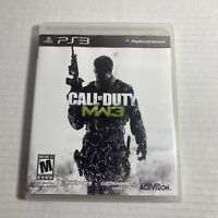 Call of Duty: Modern Warfare 3 PlayStation 3 PS3 Complete Video Game Free Ship