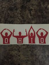 Ohio State Buckeyes Football Decal Sticker Car Truck Man Cave